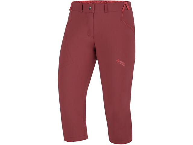 Directalpine Iris 3/4 Pants Women, palisander/brick